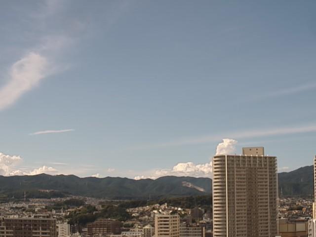 高槻市の空模様
